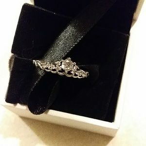PANDORA nwt fairytale princess size 7 ring